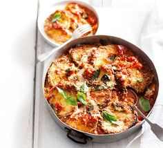 Recreate this pub classic using delicious in-season eggplant for the ultimate vegetarian treat.