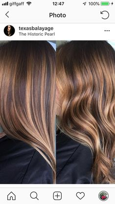 25 Honig Blonde Haircolor Ideen, die einfach wunderschön sind This earthy shade of brown is the perfect tran Brown Hair Balayage, Brown Hair With Highlights, Balayage Brunette, Hair Color Balayage, Brunette Hair, Caramel Hair Highlights, Hair Colours Caramel, Bayalage, Great Hair