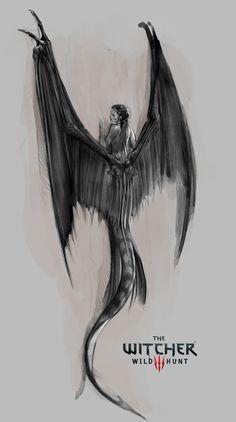 ArtStation - Mermaid The Witcher 3 Wild Hunt, Bartlomiej Gawel