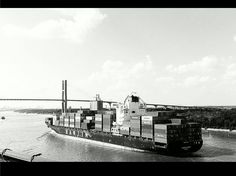 Savannah, GA's Port. Logistics Supply, Supply Chain Management, Savannah Chat, New York Skyline, Travel, Viajes, Destinations, Traveling, Trips