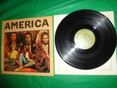 America Self Titled 1971 music record vintage find me at www.dandeepop.com