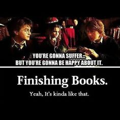 Comment below the books that have made you suffer the most!