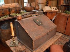 EVEN THE COLONISTS HAD LAPTOPS: The History of the Writing Desk.