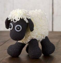 Bebé de juguete Ovejas Soft pattern free