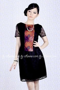 b485e03bf5 Batik Kebaya, Batik Dress, Dress Lace, Indonesia Fashion, Traditional  Fabric, Floral