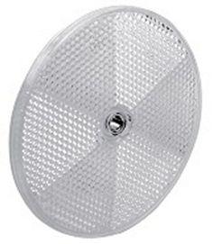 Allen-Bradley 92-39 Reflector, Round, 76mm Diameter, Plastic Back NEW OPEN BOX #AllenBradley