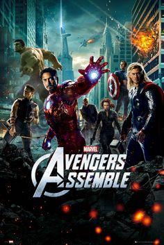 Poster: Avengers - onesheet online te koop. Bestel je poster, je 3d filmposter of soortgelijk product Maxi Poster