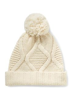 82f2d1ab90e Cable Knit Pom Hat Boys Style