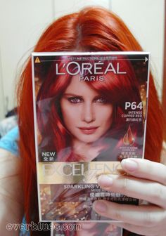 Luxury Red Hair Color Chart Loreal