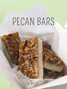 Breakfast just got a lot more fun! Try these Pecan bars made with brown sugar and Philly Cream Cheese #recipe #food