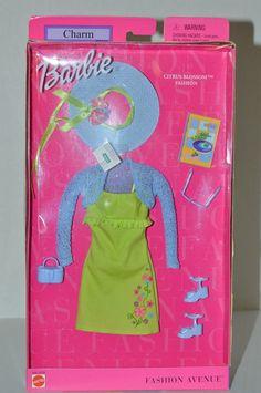 New 2001 Charm Citrus Blossom Fashion Avenue Barbie Doll Outfit 29866 | eBay