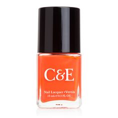 <p>Our Clementine nail lacquer is a beautiful creamy orange with subtle shimmer. This fast-drying polish glides on smooth for gorgeous, glossy colour. For best results, apply two coats, using our Snowdrop lacquer as a colour-enhancing base coat. Finish with a protective coat of Clear lacquer for long-lasting wear.</p> <ul> <li>Reinforces and protects nails</li> <li>Formulated without camphor, dibutyl phthalates, formaldehyde or toluene</li...