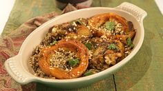 Roasted Squash Laksa Bake Chicken, Lemongrass, Peanuts & Rice