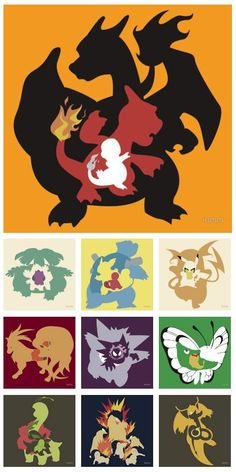 evolution of pokemon!