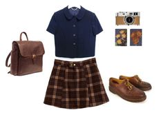"""A walk downtown"" by samarayared on Polyvore"