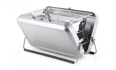 Portable Briefcase Grill BBQ Barbecue Camping Fun Charcoal Outdoor New Tragbarer Grill, Grilling, Barbecue Grill, Barbecue Camping, Hibachi Grill, Portable Charcoal Grill, Stainless Steel Grill, Wedding Gifts For Couples, Barbecue