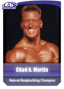 """What Chad says about AdvoCare products:  """"In just one month, and after using many other products for years, I have more energy for longer periods of time, better workouts, and more quality muscle mass."""""""