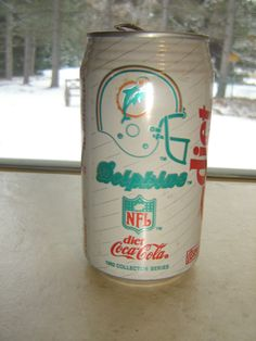 NFL Miami Dolphins Can