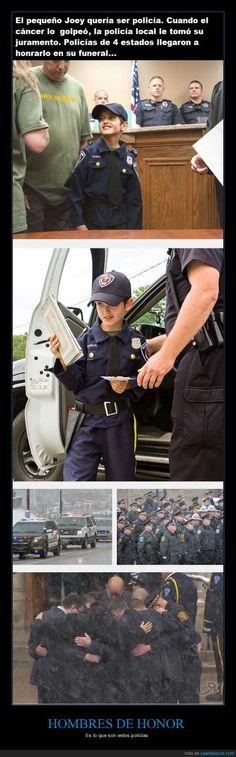 HOMBRES DE HONOR - Es lo que son estos policías