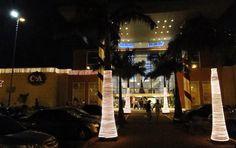 Shopping Taboão - Iluminação externa de Natal  T74Brasil