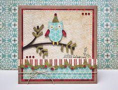 Winter wonderland #Cricut card