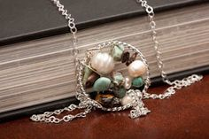 Sterling Silver Dream Catcher Necklace by AlmaValleJewelry on Etsy, $35.00