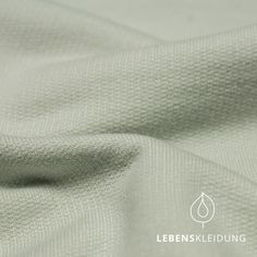 Bio Sommer Sweat Struktur - Himmelgrau