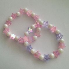 Discovered by Find images and videos about love, fashion and cute on We Heart It - the app to get lost in what you love. Cute Jewelry, Diy Jewelry, Beaded Jewelry, Jewelery, Handmade Jewelry, Beaded Necklace, Jewelry Making, Kawaii Jewelry, Funky Jewelry