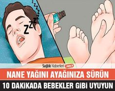 Nane yağını ayağınıza püskürtün, 10 dakika içinde bebekler gibi uyuyun!
