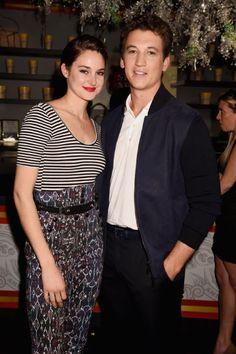 Shailene Woodley and Miles Teller - MTV Movie Awards 2015