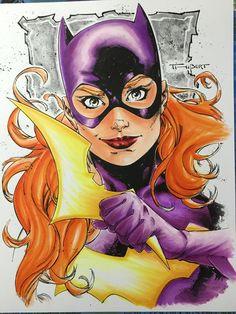 batgirl copics by FlatsNColors