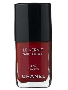 Chanel nail polish in Dragon.  Perfect red for my Asian skin.