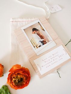 DIY Save the Dates using FUJIFILM Instax Mini 70 camera + giveaway