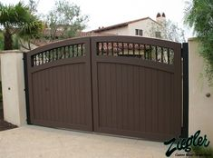 High Quality Garage Gates #2 Driveway Gate For Garage Door Opener ...