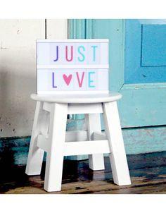 Lightbox letter set Pastel - A Little Lovely Company - Madame La Poule