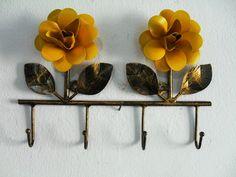 Porta Chaves duas flores