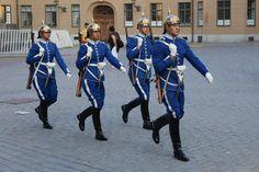 Change of Guards, Royal Palace, Stockholm, Sweden Norway Sweden Finland, Kingdom Of Sweden, Swedish Army, Military Dresses, Royal Guard, Female Soldier, Swedish Royals, Men In Uniform, Top Travel Destinations