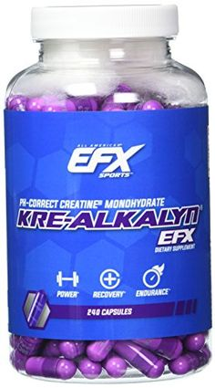 The Kre-Alkalyn EFX difference. It's buffered it's stable and it works. Kre-Alkalyn EFX represents a major breakthrough in performance supplementation thanks to its multi-patented 'pH-Correct' c...
