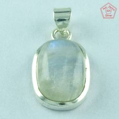 Antique Rainbow Moon Stone 925 Sterling Silver Pendant Jewelry P2772 #SilvexImagesIndiaPvtLtd #Pendant