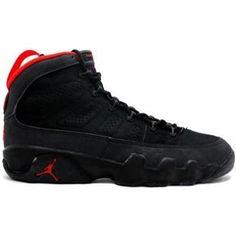 more photos 00261 541ed 130182-001 Nike Air Jordan 9 IX Original OG- Black Dark Charcoal http
