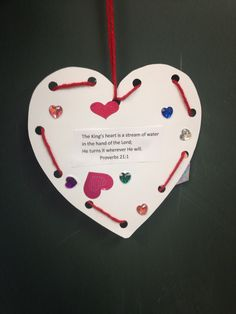 valentine heart lesson plans