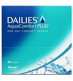 Dailies AquaComfort Plus Tageslinsen weich, 90 St�ck / BC 8.7 mm / DIA 14.0 / -2,50 Dioptrien