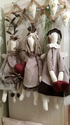 Tilda dolls are just great.