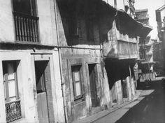 Calle Cabruñana con calle La Cámara
