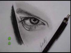 Tutorial desenho de olhos femininos. Aulas grátis