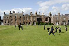 Strathallan School, Perth, Scotland.