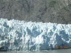 Glaciers we saw on our cruise to Alaska
