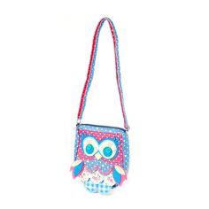 Kids Patchwork Owl Crossbody Bag   Claire's