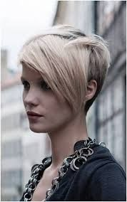 Image result for womens hair short at sides long on top