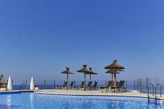 Pool am Hotel Universal Cabo Blanco auf Mallorca.